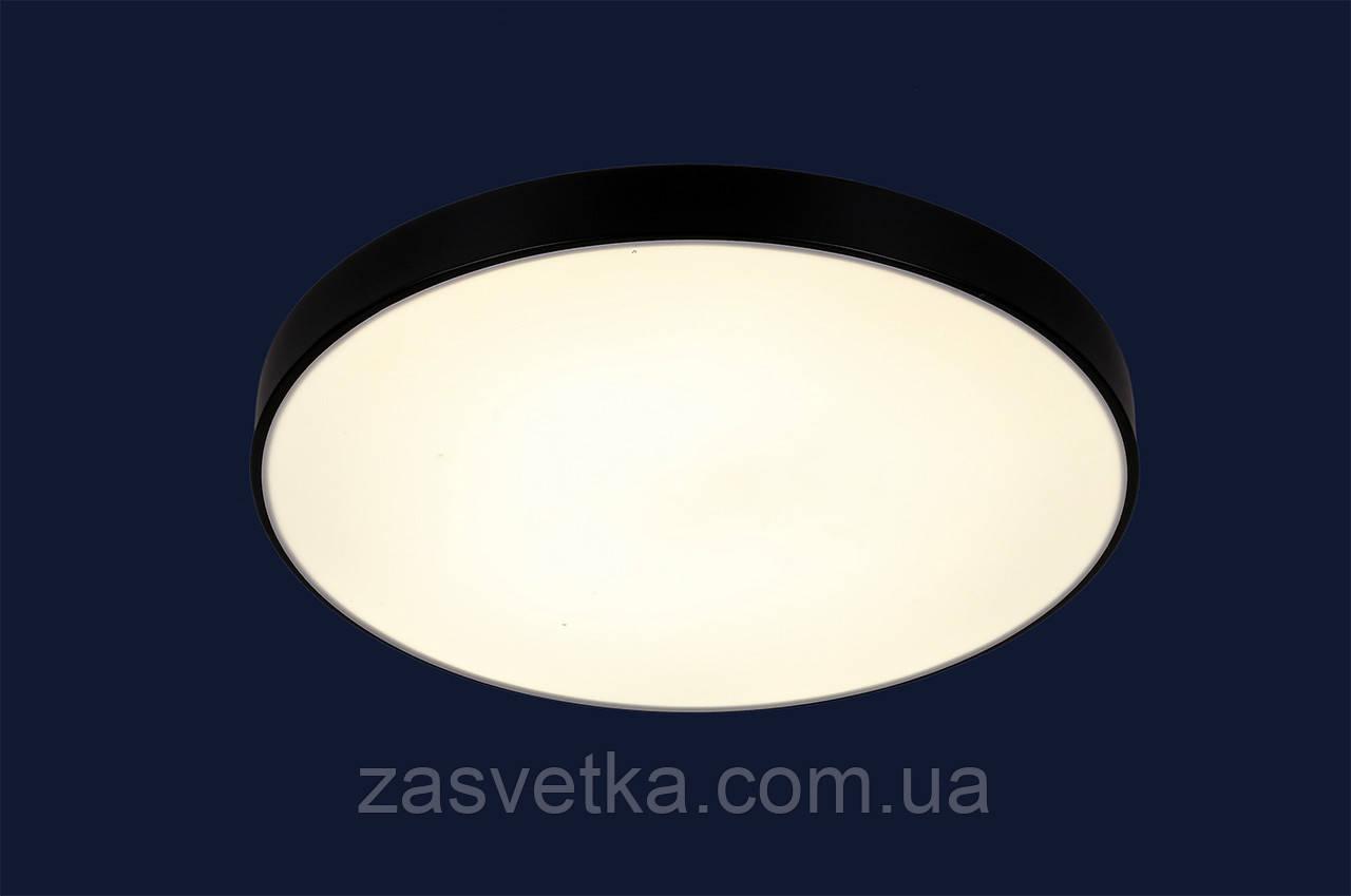 Люстра светодиодная 752L38 BK (60см)
