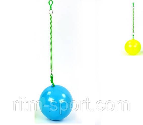 Мяч на шнуре (d 20 см, 90 г)