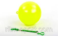Мяч на шнуре (d 20 см, 90 г), фото 3