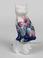 Фарфоровый светильник Кошка (Pavone)