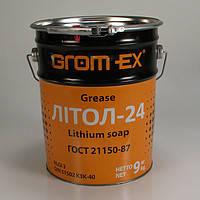 GROM-EX Смазка Литол-24, ведро 18кг