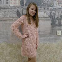 Платье детское пушистое, фото 1
