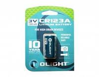 Батарея литиевая Olight CR123A 3.0v 1500mAh (CR123A)