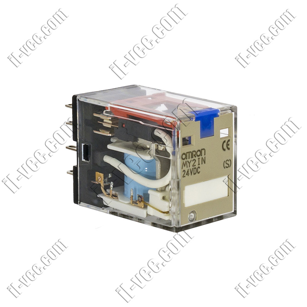 Реле OMRON MY2IN 24VDC, 10A/220VAC, 10A/24VDC