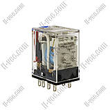 Реле OMRON MY2IN 24VDC, 10A/220VAC, 10A/24VDC, фото 3