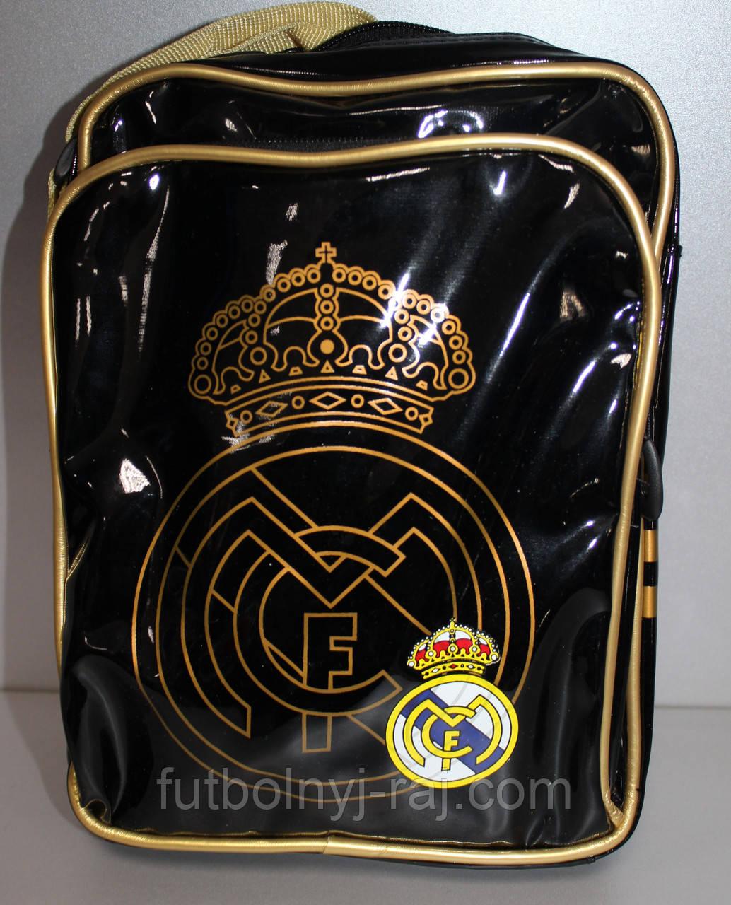 Сумка - барсетка на плече з символікою FC Реал