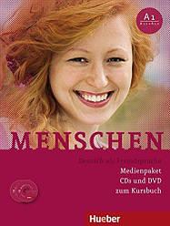 Menschen A1 Medienpaket (3)CDs mit DVD zum Kursbuch