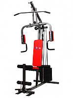 Тренажер cиловая-фитнес станция USA Style SS-2015 А для дома и спортзала