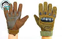 Перчатки тактические OAKLEY (олива)