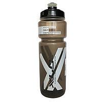Велосипедная фляга XLC WB-K03, 750 мл, прозрачно-черная