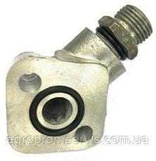 Фланец угловой маслинного насоса НШ-10 +штуцер кольца  , фото 2