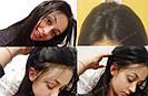 Натуральный парик, черный длинный волос, на сетке 360, имитация кожи головы, фото 3