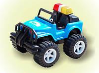 Детская машинка Джип-полиция большой от Бамсика