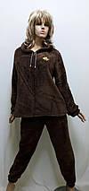 Пижама женская махровая на змейке 644, фото 2