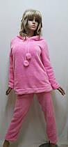 Пижама женская теплая махровая с брюками 611, фото 3