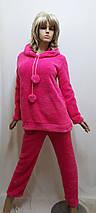 Пижама женская теплая махровая с брюками 611, фото 2