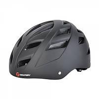 Защитный шлем Tempish Marilla черный для роллеров и скейтеров / с регулируемым ремешком