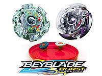Игровой набор Beyblade Burst Kaiser Kerbeus и Дарк Думсайзор с ареной 4шт 7001