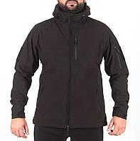Куртка Softshell Melgo черная, фото 1