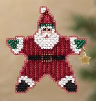 Набор для вышивки Mill Hill Star Santa