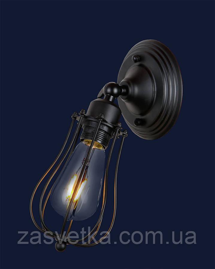Бра,настенный светильник лофт 748MB201-1 BK