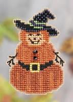 Набор для вышивки Mill Hill Pumpkin Man/ Мистер Тыква