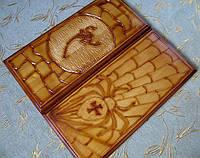 Нарды деревянные с резьбой по дереву, фото 1