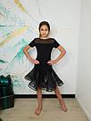 Танцевальная юбка с органзой, фото 2