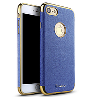 Панель iPaky Blue Full Cover For iPhone 7 8, КОД: 136583