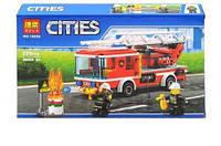 Конструктор Пожарная машина з лестницей / Сити 225 деталей City 10828