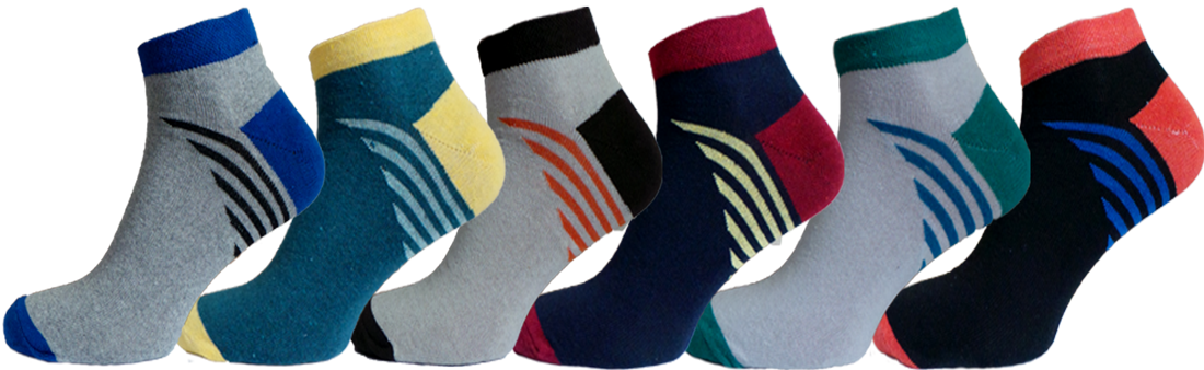 """Чоловічі шкарпетки полоска трикутник """"lomani"""""""
