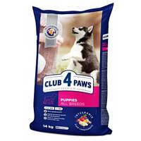 «Клуб 4 лапы» Premium сухой корм премиум класса для щенков всех пород 14 кг