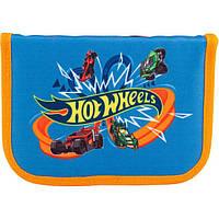 Пенал раскладной Kite Hot Wheels 2 Синий psxo35, КОД: 225779