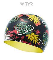 Силиконовая шапочка для плавания TYR Pineapple, фото 1