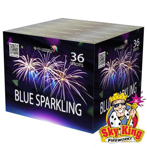 Салют BLUE SPARKLING 30мм. 36 выстр. Пиротехника и фейерверки