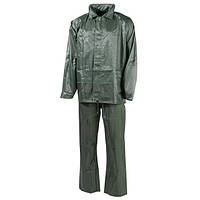 Дождевой костюм (XXXL) тёмно-зелёный, полиэстер MFH 08301B