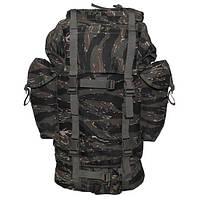 Рюкзак тактический 65л  MFH цвета тигровый камуфляж