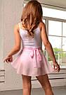 Хитон розовый (юбка на завязках) , фото 2