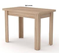 Кухонный не раскладной стол КС-6 Компанит 600х1000х736