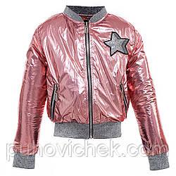 Детская легкая куртка для девочки размер 134-152