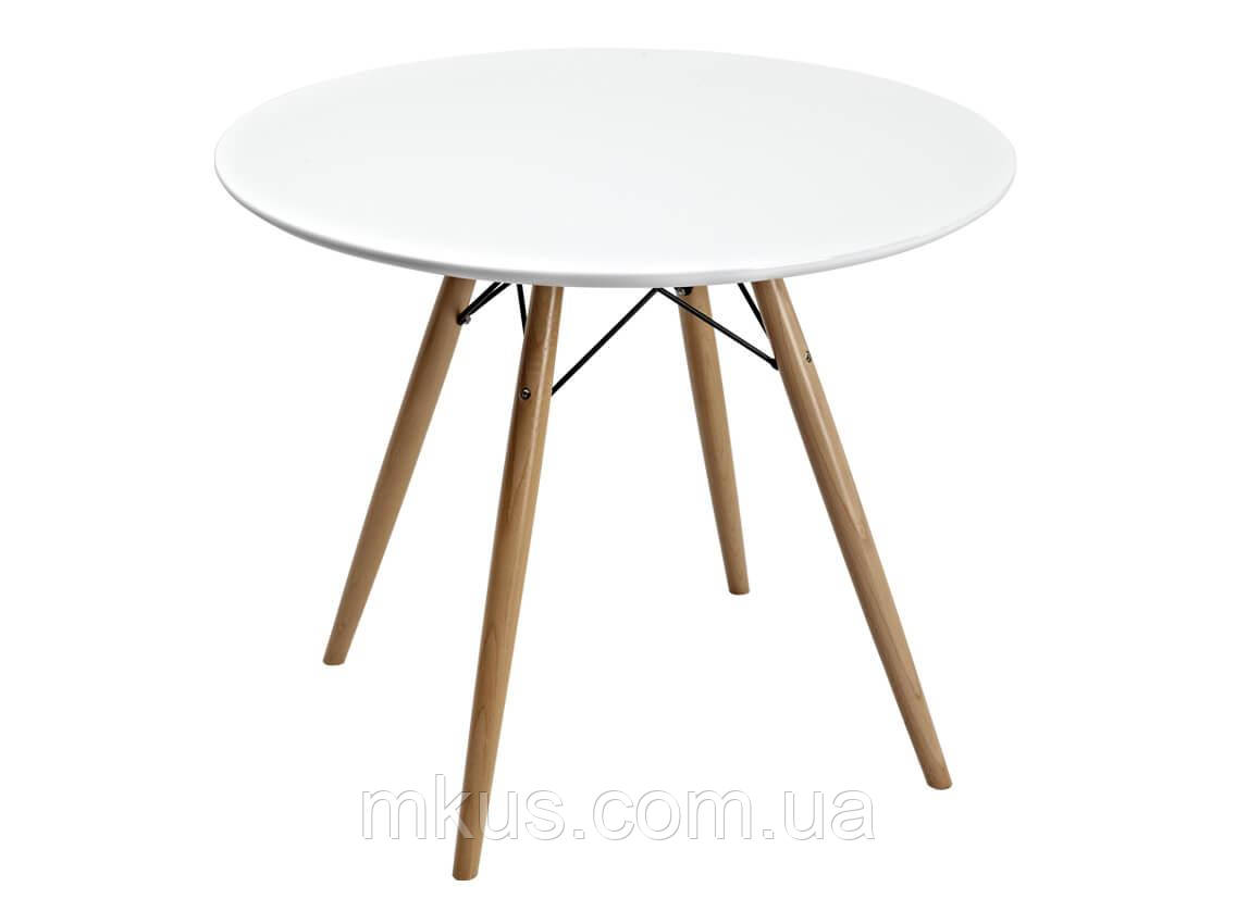 Стол Прайз круглый d80 см белый