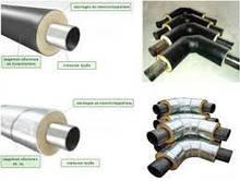 Труби теплоізольовані для теплових мереж для підземної і зовнішній прокладці оболонці 32-820