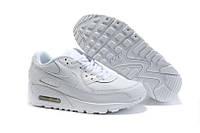 """Кроссовки женские кожаные Nike Air Max 90 """"Белые"""", р. 37-40"""
