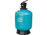 Фильтр песочный для бассейна Gemas Turbidron-CL до 10м3 Ø 450мм, 8 м3/ч, слекловолокно с полиэтиленом, Верхнее подключение