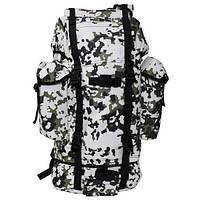 Рюкзак тактический 65л  MFH  цвета снежный камуфляж