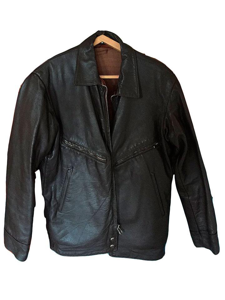 Кожаная летная куртка ссср