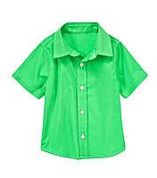 Детская летняя рубашка для мальчика 18-24 месяца