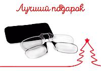 """Очки """"Пенсне"""" диоптрии +1.0  Чехол """"Карта"""""""