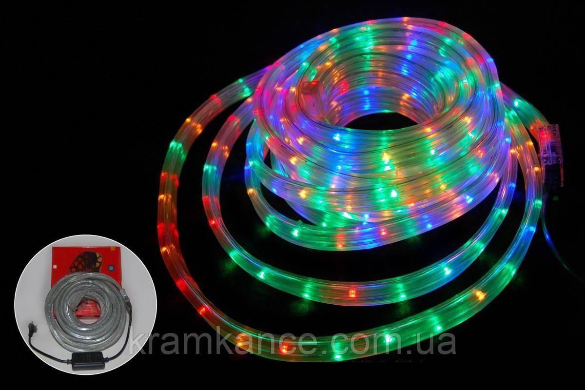 Гірлянда новорічна світлодіодна 20м LED (дюралайт) MIX