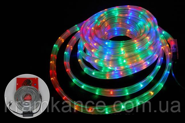 Гірлянда новорічна світлодіодна 20м LED (дюралайт) MIX, фото 2